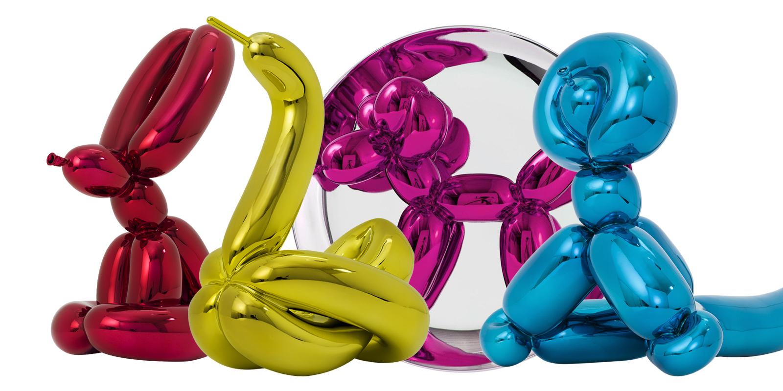 balloons by jeff koons - artist presented by premium modern art