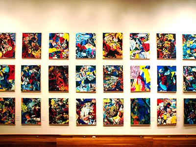 Museum of Fine Arts Wall Retrospective James Francis Gill Premium Modern Art